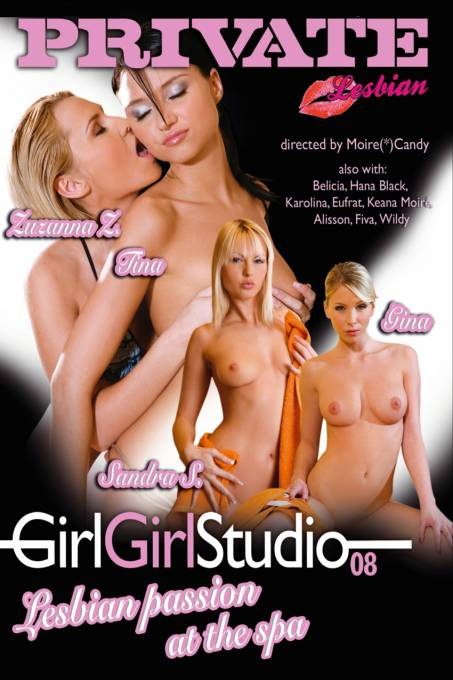 Girl Girl Studio 8- Lesbian Passion at the Spa
