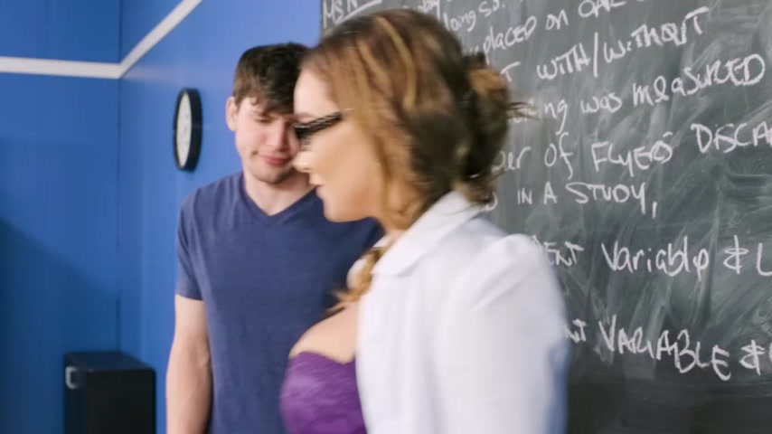 Hot Teacher Sucks Me