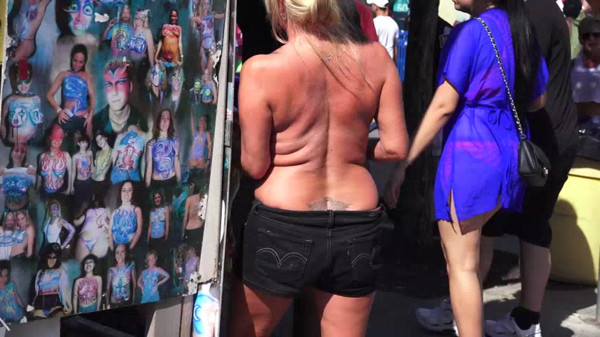 Extremely Wild + Naked Hot Body Contest